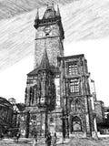 εκκλησία Πράγα στοκ φωτογραφία