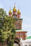 Εκκλησία πυλών του Nativity του John Predtechi Troitse-Lavra τριάδα του ST sergius της Ρωσίας μοναστηριών posad sergiev Στοκ εικόνες με δικαίωμα ελεύθερης χρήσης