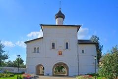 Εκκλησία πυλών Annunciation της ευλογημένης Virgin στο μοναστήρι spaso-Evfimiyevsky στο Σούζνταλ, Ρωσία Στοκ φωτογραφίες με δικαίωμα ελεύθερης χρήσης