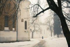 Εκκλησία πόλεων Στοκ Εικόνα