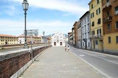 Εκκλησία Σάντα Μαρία de Λα ράχη Πίζα Στοκ εικόνα με δικαίωμα ελεύθερης χρήσης