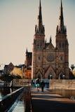 Εκκλησία Σίδνεϊ καθεδρικών ναών του ST Mary Στοκ Εικόνα