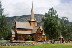 Εκκλησία σανίδων Lom Στοκ Εικόνες