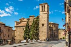 Εκκλησία Σαντιάγο del Arrabal του Τολέδο Στοκ Εικόνες