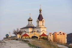 Εκκλησία σε παλαιό Orhei, Μολδαβία στοκ φωτογραφία