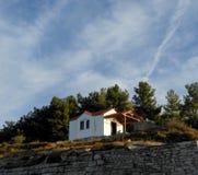 Εκκλησία σε πιό forrest Στοκ εικόνες με δικαίωμα ελεύθερης χρήσης