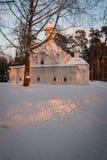 Εκκλησία σε Arkhangelskoye, Μόσχα, Ρωσία Στοκ Εικόνες