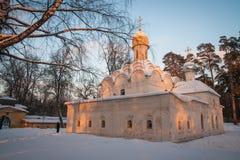 Εκκλησία σε Arkhangelskoye, Μόσχα, Ρωσία Στοκ Φωτογραφία