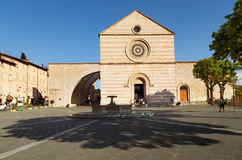 Εκκλησία σε Assisi, Ιταλία Στοκ φωτογραφία με δικαίωμα ελεύθερης χρήσης
