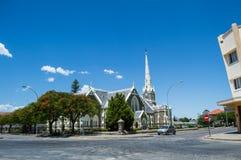 Εκκλησία σε graaff-Reinet, ελεύθερο κράτος, Νότια Αφρική Στοκ Φωτογραφίες