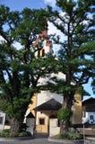 Εκκλησία σε Igls στο Tirol στοκ φωτογραφία με δικαίωμα ελεύθερης χρήσης