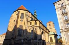 Εκκλησία σε Klodzko Glatz στη Σιλεσία, Πολωνία Στοκ φωτογραφία με δικαίωμα ελεύθερης χρήσης