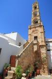 Εκκλησία σε Lindos στοκ εικόνα με δικαίωμα ελεύθερης χρήσης