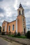 Εκκλησία σε Miercurea Sibiului στοκ εικόνα με δικαίωμα ελεύθερης χρήσης