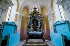 Εκκλησία σε Miercurea Sibiului στοκ φωτογραφία με δικαίωμα ελεύθερης χρήσης