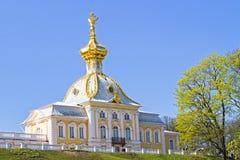 Εκκλησία σε Peterhof Στοκ Εικόνες