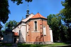 Εκκλησία σε Sandomierz Στοκ Φωτογραφίες