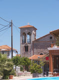 Εκκλησία σε Skala Kalloni Λέσβος Ελλάδα στοκ εικόνες