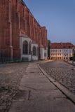 Εκκλησία σε Wroclaw Στοκ Εικόνες