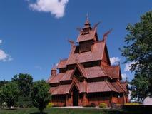 εκκλησία Σκανδιναβός Στοκ Εικόνες