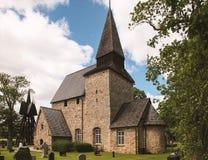 Εκκλησία Σουηδία Hossmo Στοκ εικόνα με δικαίωμα ελεύθερης χρήσης
