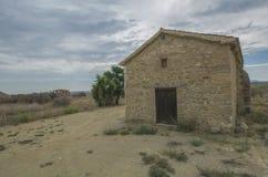 Εκκλησία στα επιβαρύνσεις Sozomenos Κύπρος Στοκ Φωτογραφία