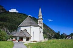 Εκκλησία στα ιταλικά Άλπεις Στοκ Εικόνα