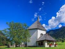 Εκκλησία στα ιταλικά Άλπεις Στοκ εικόνα με δικαίωμα ελεύθερης χρήσης