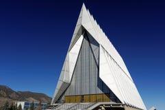 Εκκλησία στην ακαδημία βόρειας Πολεμικής Αεροπορίας στοκ φωτογραφία με δικαίωμα ελεύθερης χρήσης