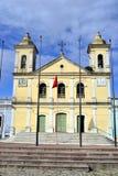 Εκκλησία στην πόλη Yaguaron Στοκ φωτογραφία με δικαίωμα ελεύθερης χρήσης