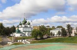 Εκκλησία στην πόλη YAROSLAVL, Ρωσία Στοκ Εικόνα
