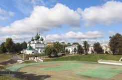 Εκκλησία στην πόλη YAROSLAVL, Ρωσία Στοκ φωτογραφίες με δικαίωμα ελεύθερης χρήσης