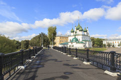Εκκλησία στην πόλη YAROSLAVL, Ρωσία Στοκ Εικόνες