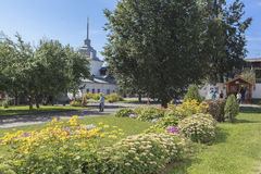 Εκκλησία στην πόλη YAROSLAVL, Ρωσία Στοκ εικόνες με δικαίωμα ελεύθερης χρήσης