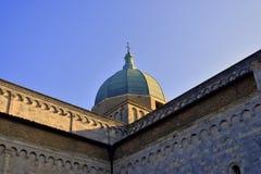 Εκκλησία στη Ανκόνα Marche Ιταλία Στοκ φωτογραφία με δικαίωμα ελεύθερης χρήσης