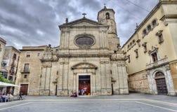 Εκκλησία στη Βαρκελώνη, Ισπανία Στοκ Εικόνες