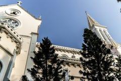 Εκκλησία στη πόλη Χο Τσι Μινχ Στοκ φωτογραφία με δικαίωμα ελεύθερης χρήσης