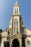 Εκκλησία στη πόλη Χο Τσι Μινχ Στοκ Εικόνα