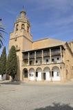 Εκκλησία στη Ronda Στοκ φωτογραφία με δικαίωμα ελεύθερης χρήσης