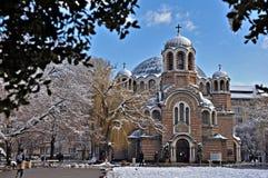 Εκκλησία στη Sofia Στοκ φωτογραφία με δικαίωμα ελεύθερης χρήσης