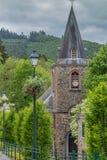 Εκκλησία στις Αρδέννες στο Βέλγιο Στοκ φωτογραφίες με δικαίωμα ελεύθερης χρήσης
