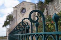 Εκκλησία στις γέφυρες Γαλλία Στοκ Εικόνες