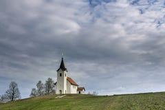 Εκκλησία στον ουρανό Στοκ φωτογραφία με δικαίωμα ελεύθερης χρήσης