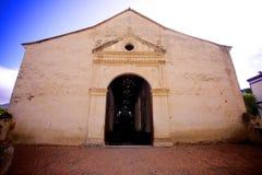 Εκκλησία στο Λα Asuncià ³ ν στο νησί της Μαργαρίτα στοκ εικόνες
