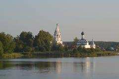 Εκκλησία στο νησί στοκ φωτογραφία