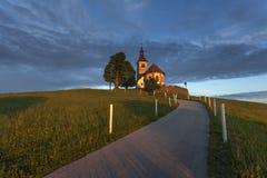 Εκκλησία στο Hill Στοκ φωτογραφίες με δικαίωμα ελεύθερης χρήσης