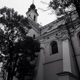 Εκκλησία στο Lublin στοκ φωτογραφίες