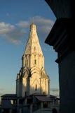 Εκκλησία της ανάβασης Μόσχα Στοκ Εικόνες