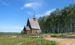 Εκκλησία της αναζοωγόνησης σε Ples, Ρωσία Στοκ φωτογραφίες με δικαίωμα ελεύθερης χρήσης
