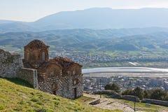 εκκλησία της Αλβανίας Στοκ Εικόνες